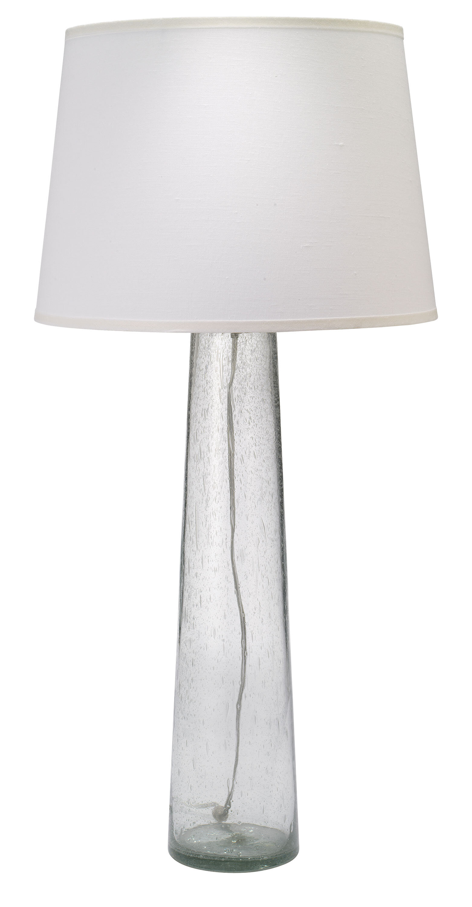 Picture of: Jamie Young Company 38 Clear Glass Table Lamp