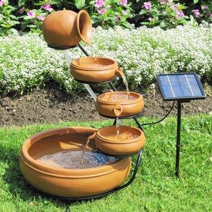 Solar Koolscapes Cascading Fountain