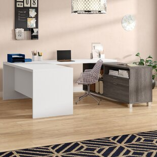 Wrought Studio Pham U-Shape Desk Office Suite