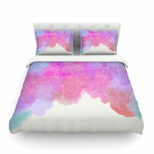 Spring Shadows Pastel Featherweight Duvet Cover