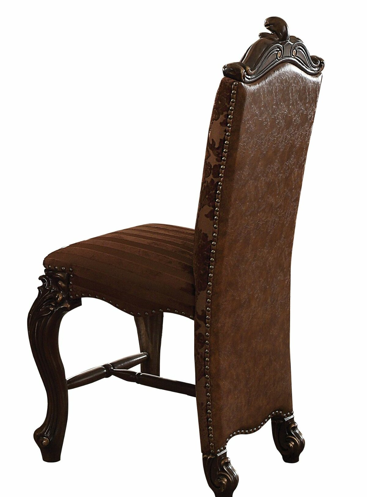 Sensational Way Wick Faux Leather Upholstered Wooden 24 Bar Stool Ibusinesslaw Wood Chair Design Ideas Ibusinesslaworg