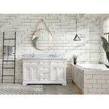 Palko 55'' Double Bathroom Vanity Set by Breakwater Bay