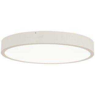 Latitude Run Sibirski 1-Light LED Flush Mount