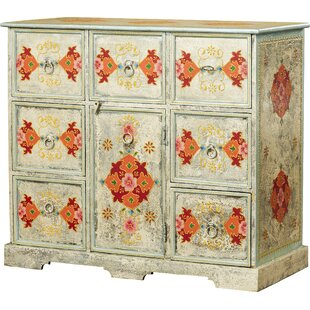 Ferran Hand Painted 8 Drawer Accent Chest