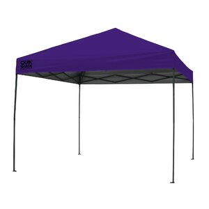 Quik Shade 10 Ft. W x 10 Ft. D Steel Pop-Up Canopy