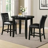 Markina 3 - Piece Counter Height Dining Set by Red Barrel Studio®