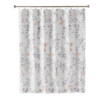 Hashtag Home Monte Abstract Single Shower Curtain Reviews Wayfair