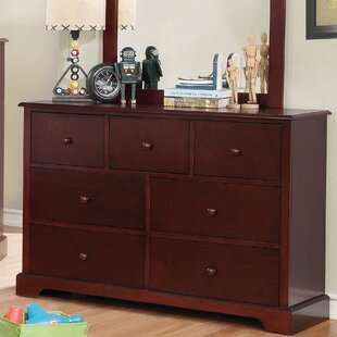 Darby Home Co Dellbrook 7 Drawer Double Dres..