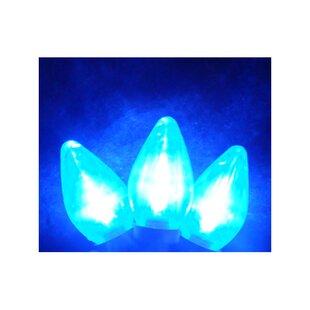 Sienna Lighting 25 Light LED Retro Style C7 Christmas Light String