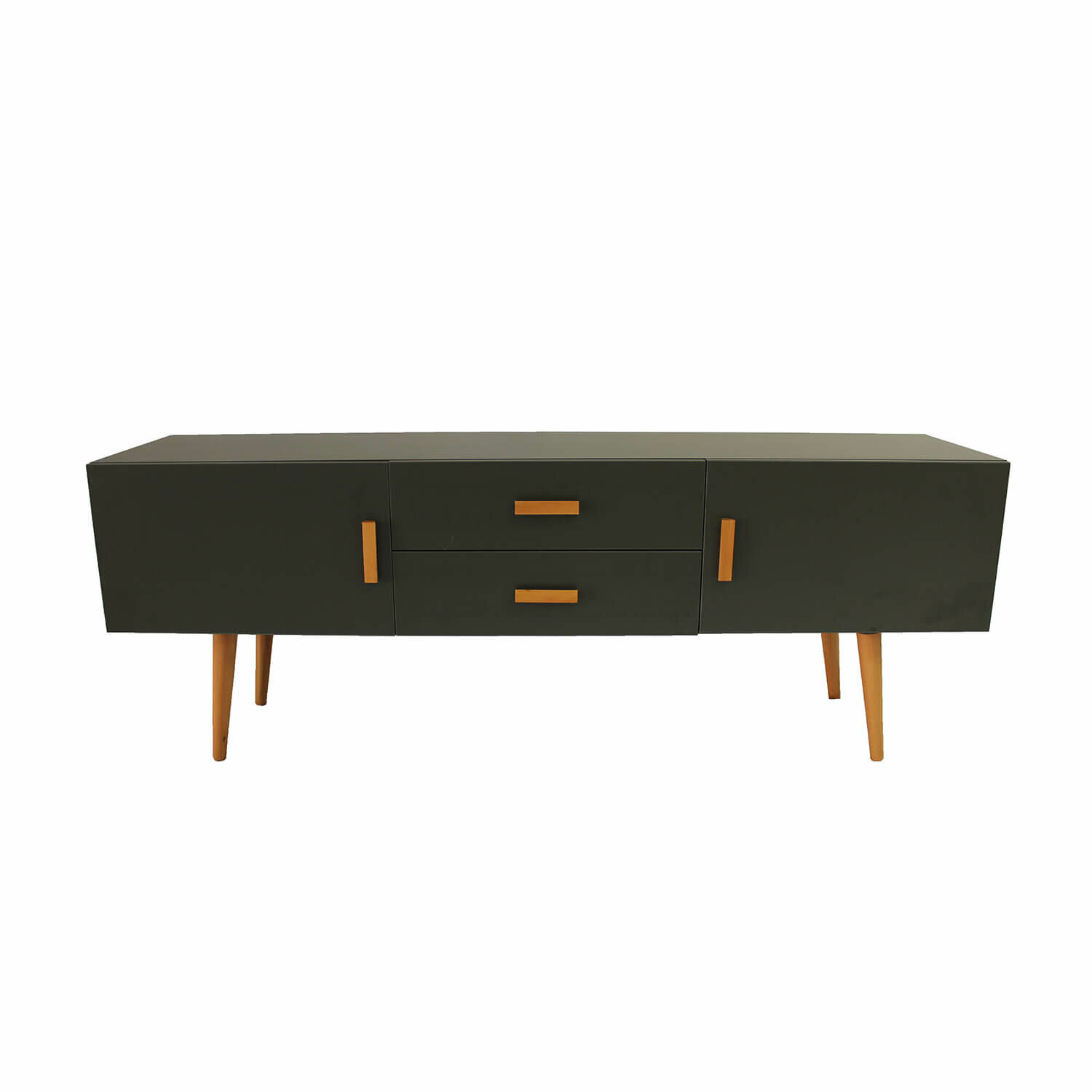 Corrigan Studio Folkeste Mid Century Modern Tv Stand For Tvs Up To