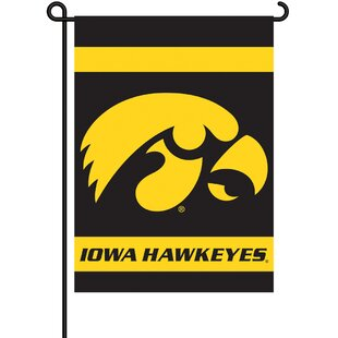NCAA 2-Sided Polyester Garden Flag Set By BSI Products