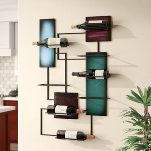 Sequeira 8 Bottle Wall Mounted Wine Rack ..