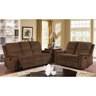 Senna Transitional Reclining Manual Wall Hugger Configurable Living