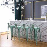 Marlon Bar & Counter Stool (Set of 4) by 17 Stories