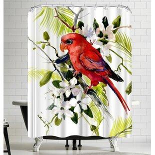 Suren Nersisyan Red Lori Single Shower Curtain