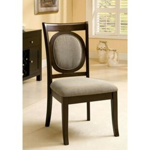Montevia Upholstered Dining Chair (Set of 2) Alcott Hill