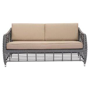 Ashton Beach Patio Sofa with Cushions