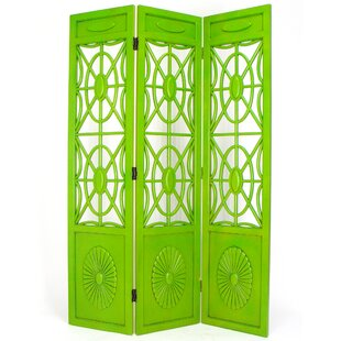 Nazareth Spider Web 3 Panel Room Divider by Bungalow Rose