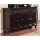 McMullen 7 Drawer Double Dresser by Canora Grey