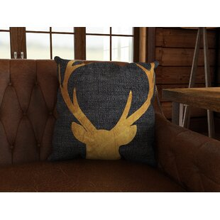 Ikonolexi Mapleton Deer Throw Pillow