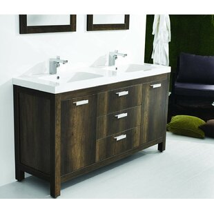 Seamus 59 Double Bathroom Vanity Set By Wrought Studio