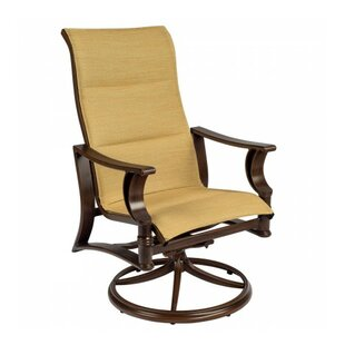 Arkadia Rocker Patio Dining Chair by Woodard New Design