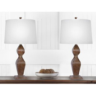 Wedemeyer 32 Table Lamp Set (Set Of 2) by World Menagerie 2019 Sale
