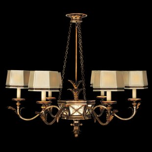 Fine Art Lamps Newport 6-Light Shaded Chandelier