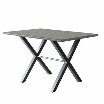 Perfect Tables 60 L X 36 W Rectangular Bevel Table Top Wayfair