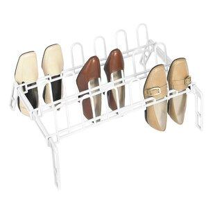 Rebrilliant 9 Pair Floor Shoe Rack