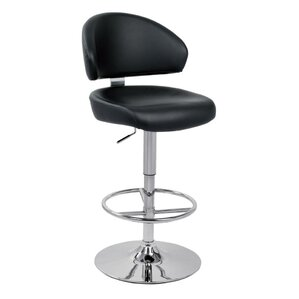 Adjustable Height Swivel Bar Stool by VIG..