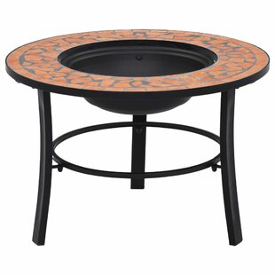 Eastchester Steel Charcoal Fire Pit By World Menagerie
