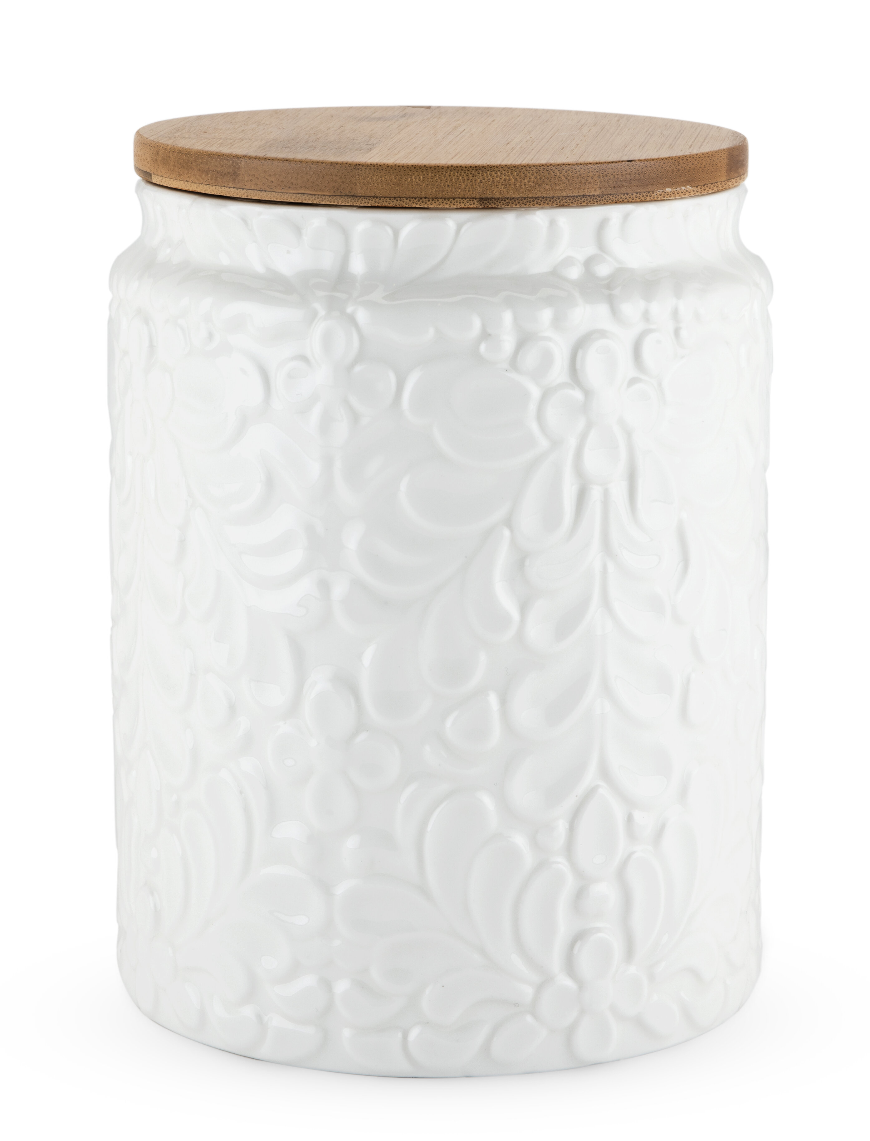 Twine Pantry Textured Ceramic Kitchen Canister & Reviews | Wayfair