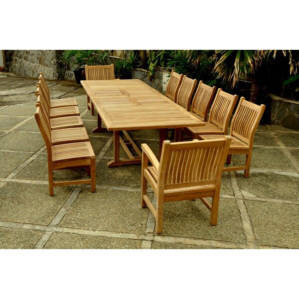 Anderson Teak Valencia 13 Piece Dining Set U0026 Reviews | Wayfair