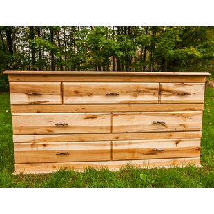 Nativ Living™ Mountain Maple 7 Drawer Dresser