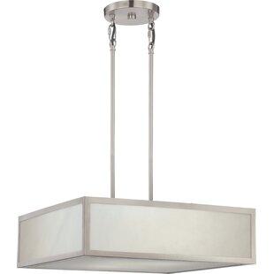 Ivy Bronx Almeta 2-Light LED Square/Rectangle Chandelier