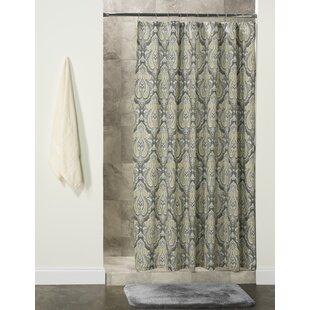 Astoria Grand Lonnie Cotton Shower Curtain