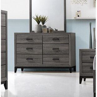 Wallis 6 Drawer Double Dresser