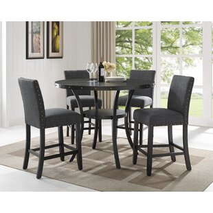 Rand 5 Piece Pub Table Set DarHome Co