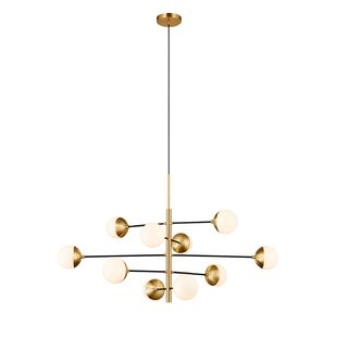 Jaylan 10-Light Novelty Chandelier by Corrigan Studio
