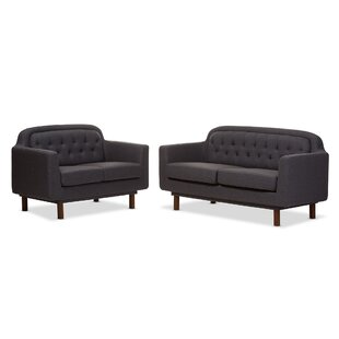 Liliana 2 Piece Living Room Set by Wholesale Interiors