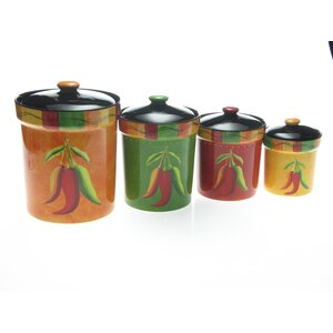 Mallory 4-Piece Kitchen Canister Set