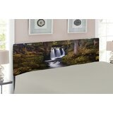 Waterfall Queen Upholstered Panel Headboard by East Urban Home