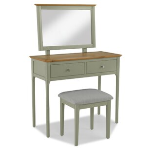 Anson Dressing Table Set With Mirror By August Grove