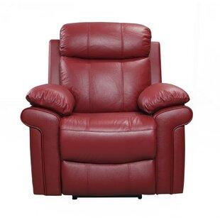 Charmant American Leather Recliner | Wayfair