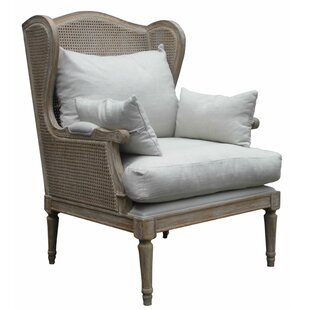 Jackson Hand Weaved Accent Armchair by One Allium Way