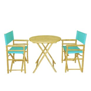 3 Piece Bar Height Dining Set