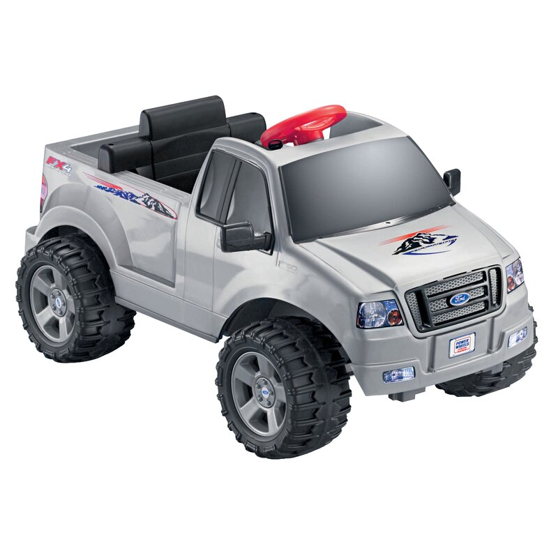 23ce088be53b2 Fisher-Price Power Wheels Ford F-150 6V Battery Powered Car ...
