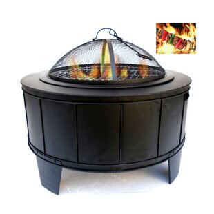 Metal Fire Pit by Entrada