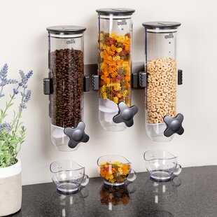 Cereal Dispensers Clear Food Storage Containers You Ll Love In 2021 Wayfair